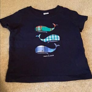 Janie and Jack whale t-shirt size 3-6 months